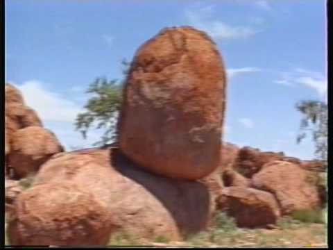 Pro Hart in Broken Hill NSW Australia, Ayers Rock, Darwin, Jan. 1990