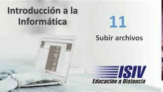 Subir archivos - ISIV