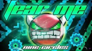 NINE CIRCLES CYAN! Fear Me by CrisPy Dash (Demon) | Geometry Dash