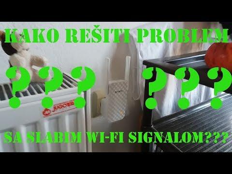 Kako rešiti problem sa slabim wi-fi signalom? How to solve a problem with a weak wi-fi signal?