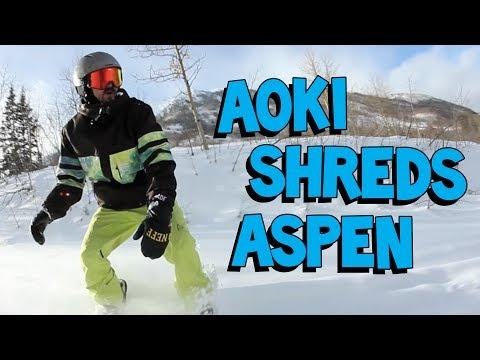 Snowboarding in Aspen, Colorado - On the Road w/ Steve Aoki #100