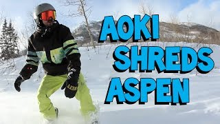 Snowboarding in Aspen, Colorado - On the Road w/ Steve Aoki #100