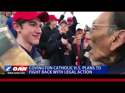 Covington Catholic High School plans to fight back with legal action