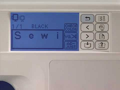 Brother He240 Nv950d Saving Custom Embroidery Patterns Or