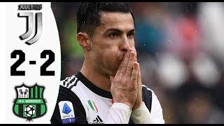Juventus Vs Sassuolo 2 2 (goals&highlights) 01.12.2019 Hd