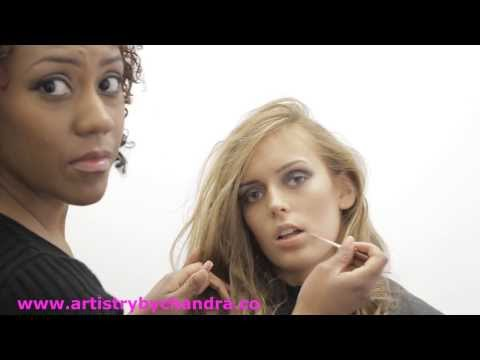 Behind the scenes Hair and Makeup with DreamBuilder Productions