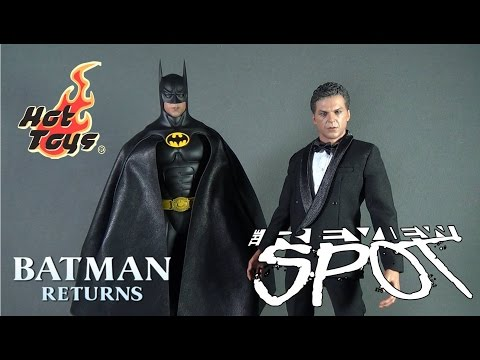 Collectible Spot - Hot Toys Batman Returns Batman and Bruce Wayne Boxed Set