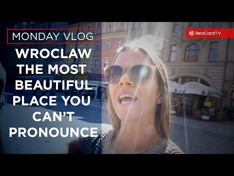 Vlog Poland: The Most Beautiful Place That You Can't Pronounce, Wroclaw, Poland | RedCardTV
