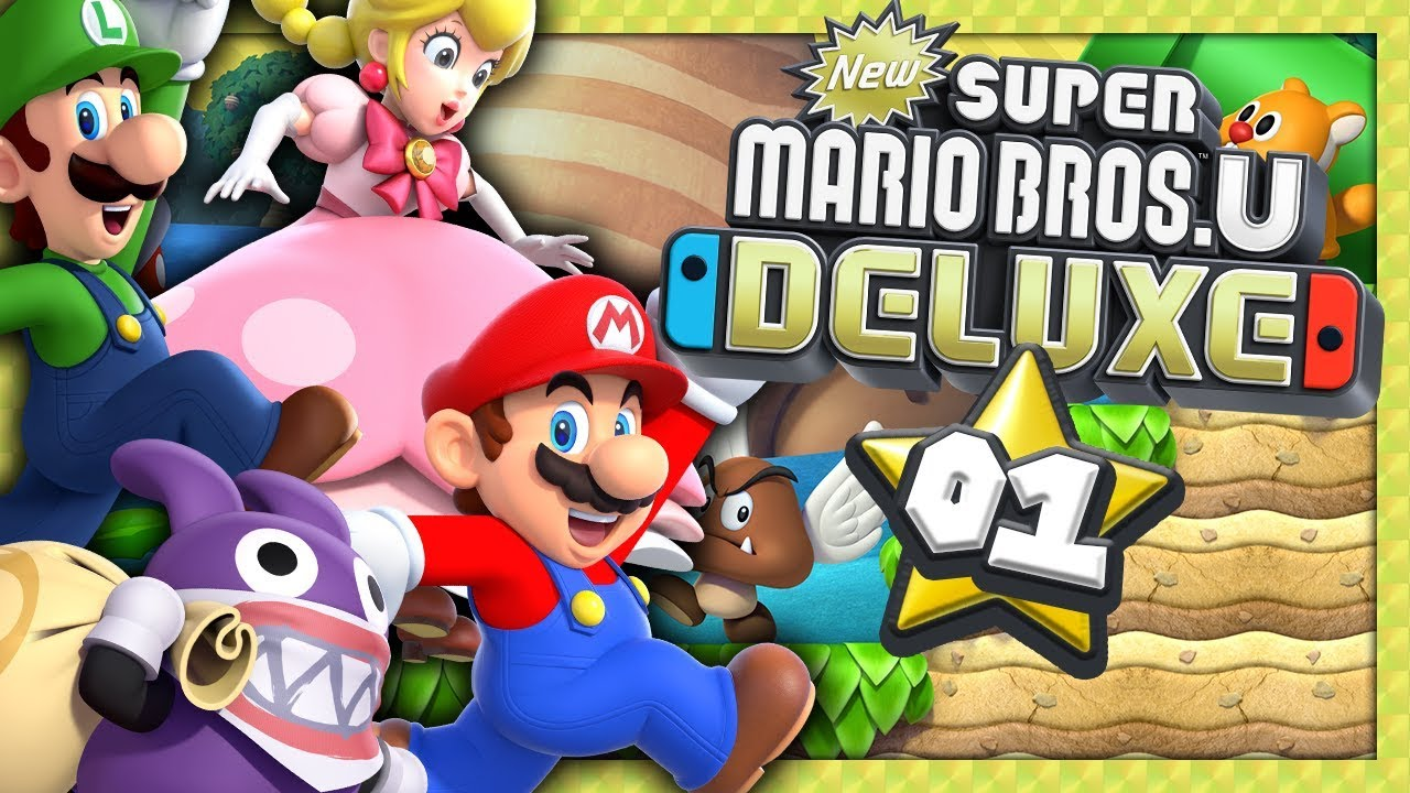 New Super Mario Bros U Deluxe 1 Retour Sur Nintendo Switch