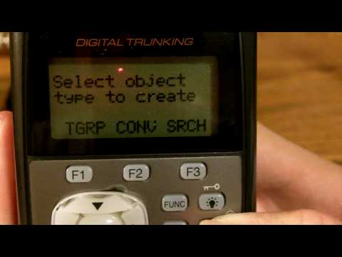 How To Program the PRO-106 Digital Trunking Scanner