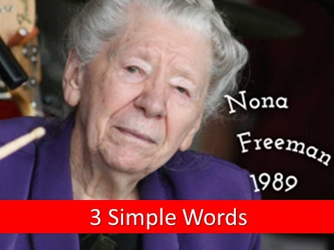 Three Words – Thy Will be Done – Nona Freeman 1989