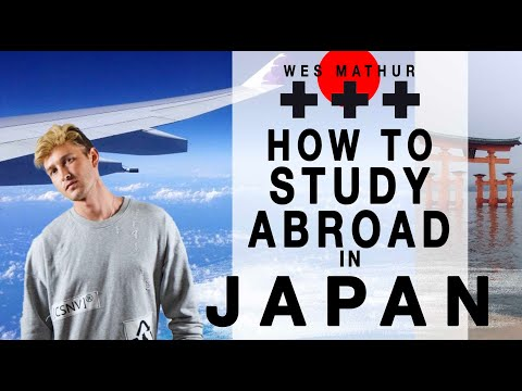 HOW TO STUDY ABROAD IN JAPAN (applying, preparing, packing for your trip) - WES MATHUR PODCAST