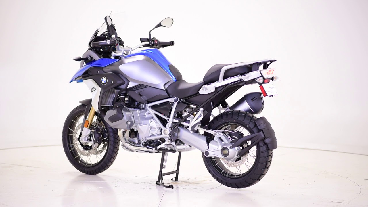 2019 bmw r 1250 gs cosmic blue met premium low susp new youtube. Black Bedroom Furniture Sets. Home Design Ideas