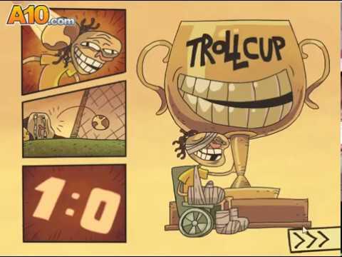 Приключения Троллфейса 5: Футбол (Trollface quest: 5) прохождение