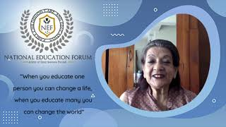 National Education Forum June Dutt