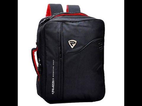 Palazzo Tas Ransel Backpack 3in1 - Hitam - YouTube ebf9a96080