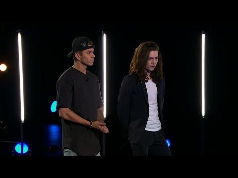 Jack och Mega utsätts för en oväntad twist i Idol 2017 - Idol Sverige (TV4)