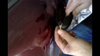 Ремонт ручки двери - ЛАДА ГРАНТА