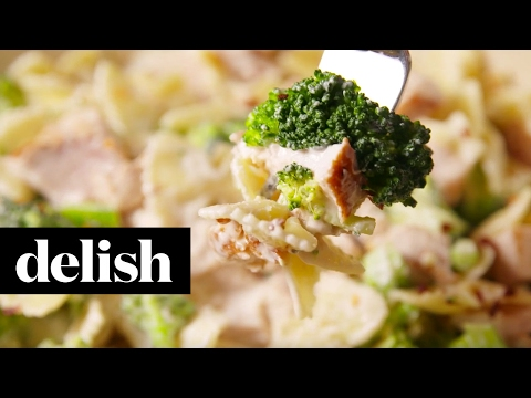 Chicken & Broccoli Bowties | Delish