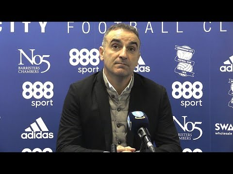 Birmingham 1-0 Sheffield Wednesday - Carlos Carvalhal Full Post Match Press Conference -Championship