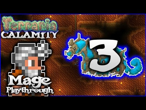 🌟 Cnidrion Mini Bosses & The Coral Spout! | Terraria 1.3.5 Calamity Mod Mage Let's Play [Episode 3]