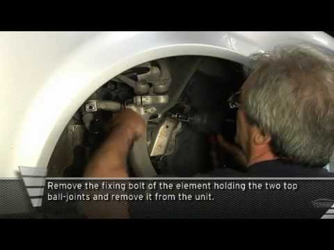 hqdefault audi a4 front shock absorber replacement procedure youtube