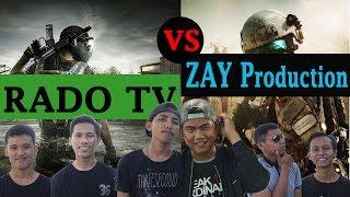 Challenge Makan Cabe Sampai Nangis - RADO TV vs ZAY Production.