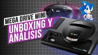 ANÁLISIS y UNBOXING: Sega MEGA DRIVE/GÉNESIS mini - 42 videojuegos