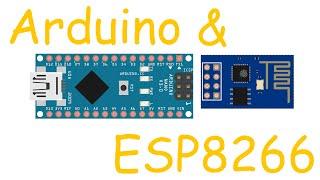 ESP8266 и Arduino, подключение, распиновка(Купить ESP8266: http://ali.pub/fieu3 Купить AMS1117-3.3V можно тут: http://ali.pub/wcghr NodeMCU(где всё уже есть): http://ali.pub/7ap3o Переходник..., 2016-02-28T00:33:03.000Z)