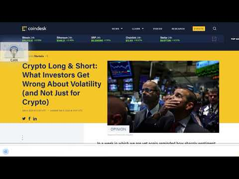Crypto Long & Short: What Investors Get Wrong About Volatility (and Not Just for Crypto)