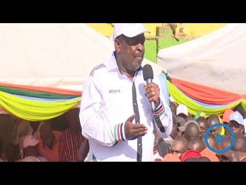 Mudavadi emotionally attacks Interior CS Nkaissery at the NASA rally in Nairobi