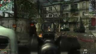 MW3 PC Multiplayer Gameplay. Domination on Fallen. Max Settings. 1080p HD.