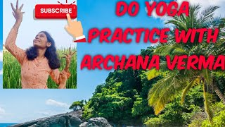 #Khol de par song lyrics #Hichki# Do yoga practice with Archana verma