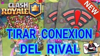 TIRAR LA CONEXION DEL RIVAL CON APK CHINA (Clash Royale)