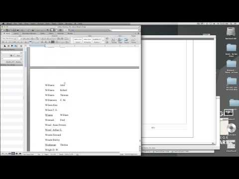 Design Challenge: Indexing a book