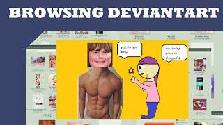 Browsing Deviantart: rowleyjeffersonisbae