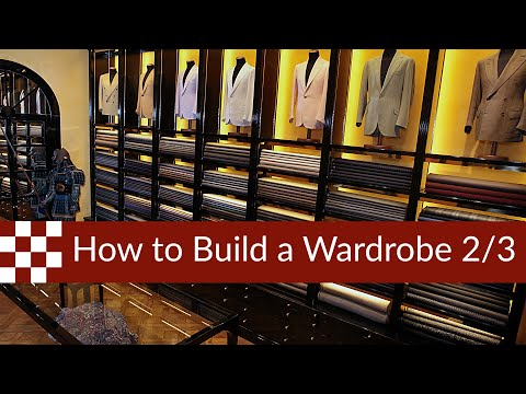 How to Build a Wardrobe pt. 2 : The Three-Piece Suit and the Sport Jacket