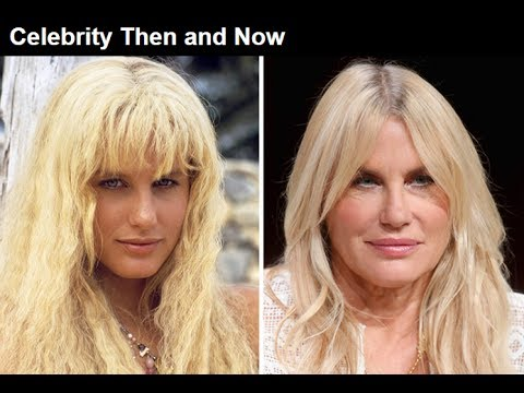 Daryl Hannah Then Now 2017