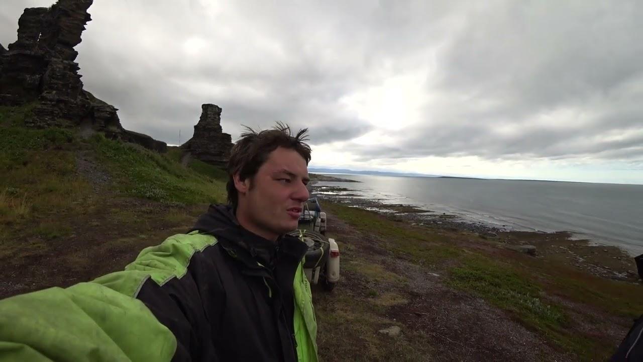 ДиКиЙ север 5-я часть полуостров Средний скалы Два брата