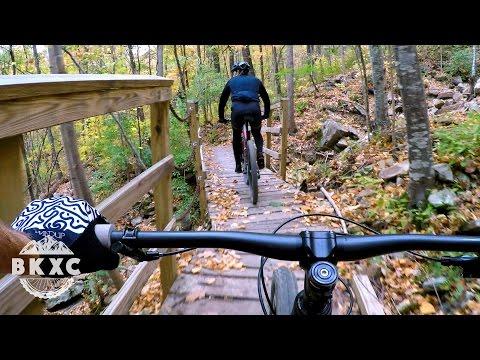 Mountain Biking Racoon Mountain with Cody from Handup Gloves