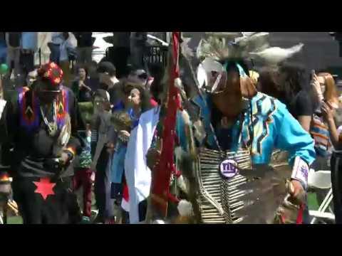 8th Annual Columbia University Powwow - Grand Entry - Storm Boyz