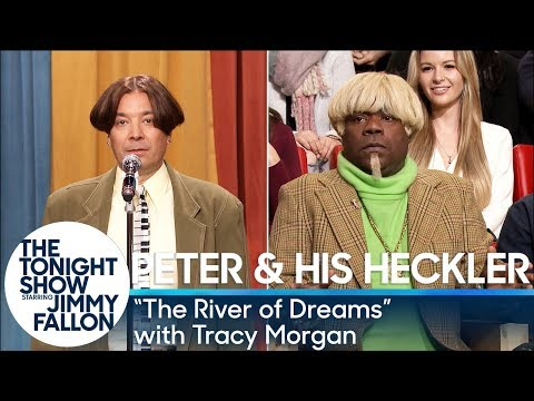 "Peter and His Heckler - ""The River of Dreams"" (with Tracy Morgan)"