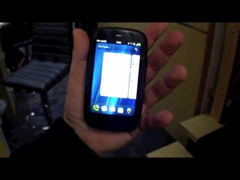 HP Pre3 webOS Smartphone Hands On - English