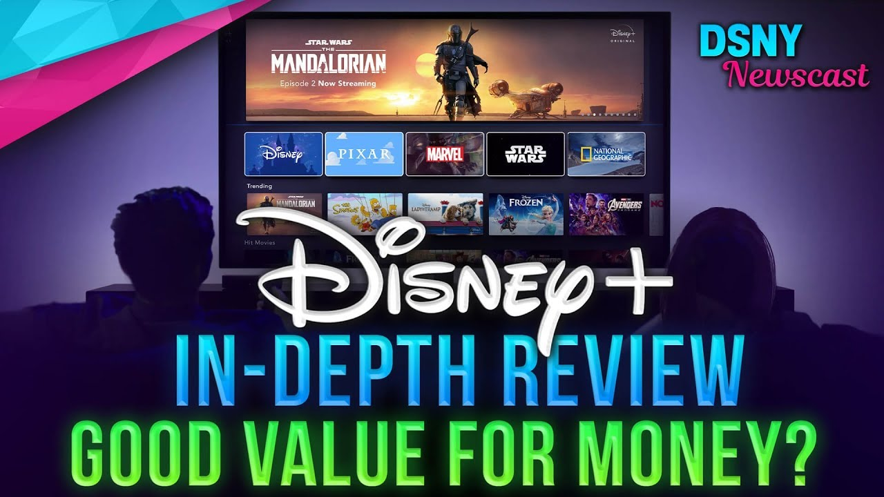 DISNEY+ Review -  Is It Good Value For Money? - Disney News - 11/19/19