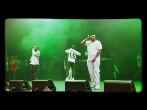 "Bone Thugs-N-Harmony ""Thuggish Ruggish Bone"" live"