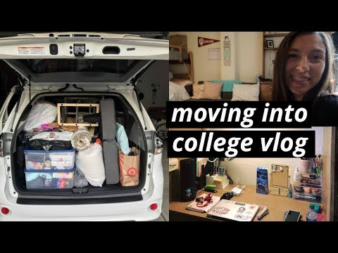 COLLEGE MOVE IN DAY VLOG | freshman year dorm at indiana university