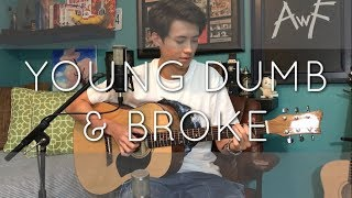 Video Khalid - Young Dumb & Broke - Cover (Vocal & Fingerstyle) download MP3, 3GP, MP4, WEBM, AVI, FLV Januari 2018