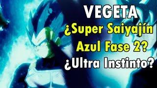 ¿Vegeta Súper Saiyajin Azul Fase 2?