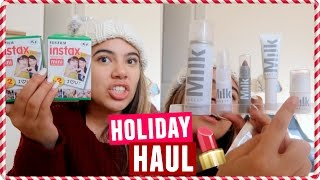 HUGE HOLIDAY HAUL (Shopping in NYC, Urban Outfitters, B&H Photo)
