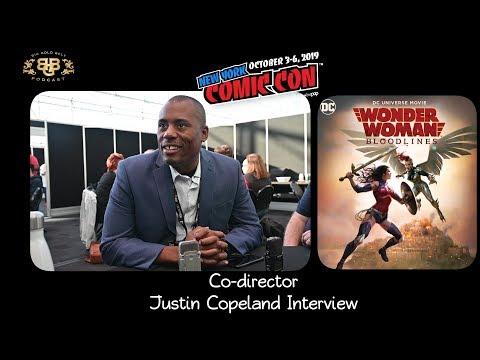 NYCC 2019 | Wonder Woman: Bloodlines | Justin Copeland (co-director) Interview